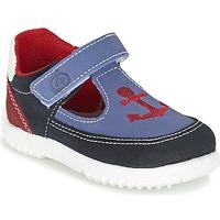 Topánky Chlapci Sandále Citrouille et Compagnie GANDAL Modrá / Červená