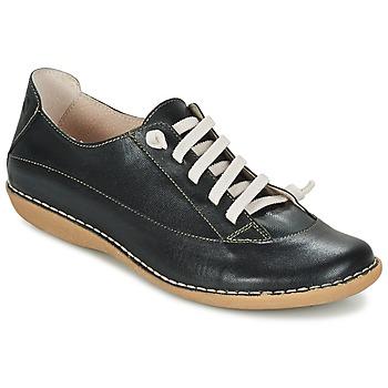 Topánky Ženy Derbie Casual Attitude GERALD Čierna