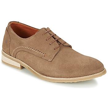 Topánky Muži Derbie Carlington GRAO Hnedá