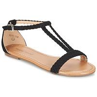 Topánky Ženy Sandále Moony Mood GEMINIELLE čierna