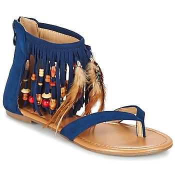 Topánky Ženy Sandále Moony Mood GETOULA Modrá