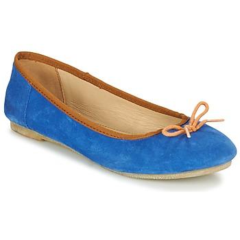 Topánky Ženy Balerínky a babies Kickers BAIE Modrá / Oranžová