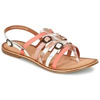 Topánky Ženy Sandále Kickers DIXMILLE Strieborná / Ružová / Biela