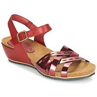 Topánky Ženy Sandále Kickers TOKANNE Červená / Metalická