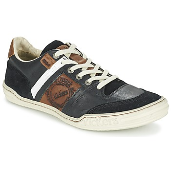 Topánky Muži Nízke tenisky Kickers JEXPLORE čierna