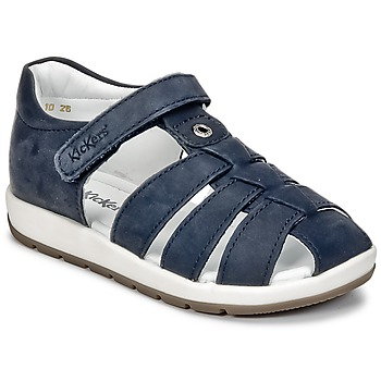 Topánky Chlapci Sandále Kickers SOLAZ Námornícka modrá