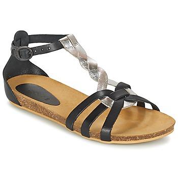 Topánky Dievčatá Sandále Kickers BOMTARDES Strieborná / čierna