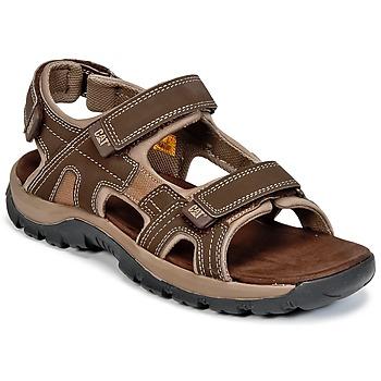Topánky Muži Sandále Caterpillar GILES Hnedá