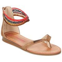 Topánky Dievčatá Sandále Les Tropéziennes par M Belarbi GINKGO Hnedá