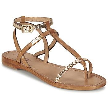 Topánky Ženy Sandále Les Tropéziennes par M Belarbi HILATRES Hnedá / Zlatá
