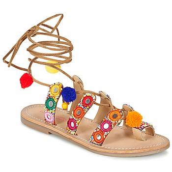 Topánky Ženy Sandále Les Tropéziennes par M Belarbi OREA Hnedá / Viacfarebná