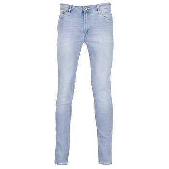 Oblečenie Muži Džínsy Slim Jack & Jones LIAM JEANS INTELLIGENCE Modrá