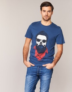 Oblečenie Muži Tričká s krátkym rukávom Jack & Jones TRICK ORIGINALS Námornícka modrá