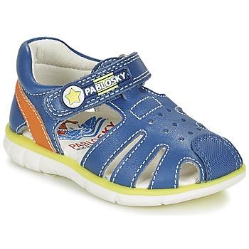 Topánky Chlapci Sandále Pablosky GUADOK Modrá