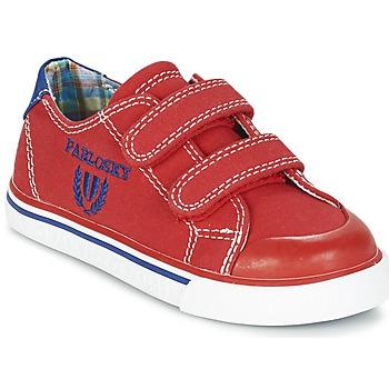 Topánky Chlapci Nízke tenisky Pablosky LIVABI červená