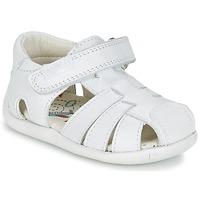Topánky Chlapci Sandále Pablosky NETROLE Biela
