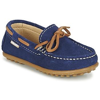 Topánky Chlapci Námornícke mokasíny Pablosky RACEZE Modrá