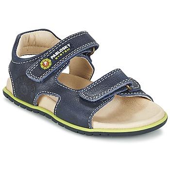 Topánky Chlapci Sandále Pablosky GARMINOUTE Modrá