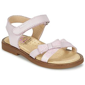 Topánky Dievčatá Sandále Pablosky SELMIE Ružová