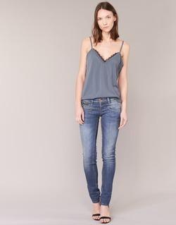 Oblečenie Ženy Džínsy Slim Freeman T.Porter ALEXA SLIM SDM Modrá / MEDIUM