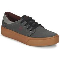 Topánky Deti Nízke tenisky DC Shoes TRASE TX B SHOE XSSR šedá / červená