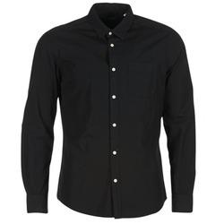Oblečenie Muži Košele s dlhým rukávom Esprit FOVETTIO čierna