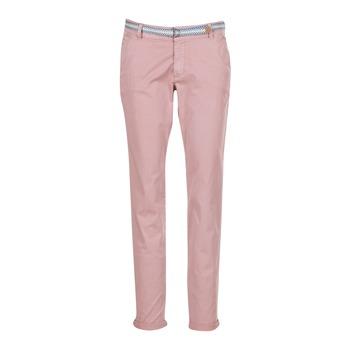 Oblečenie Ženy Nohavice päťvreckové Esprit HOUISSA Ružová