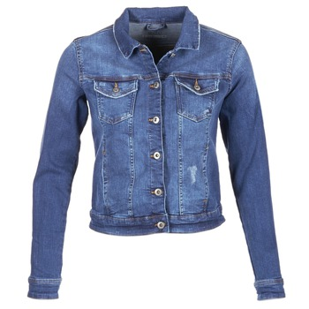 Oblečenie Ženy Džínsové bundy Esprit CROVETTA Modrá / MEDIUM