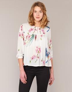 Oblečenie Ženy Blúzky Derhy DIGNE Krémová