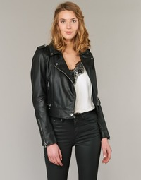 Oblečenie Ženy Kožené bundy a syntetické bundy Oakwood YOKO Čierna