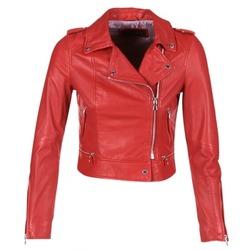 Oblečenie Ženy Kožené bundy a syntetické bundy Oakwood YOKO Červená