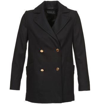 Oblečenie Ženy Kabáty Esprit WATTS čierna