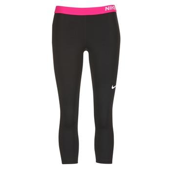 Oblečenie Ženy Legíny Nike NP CL CAPRI čierna / Ružová