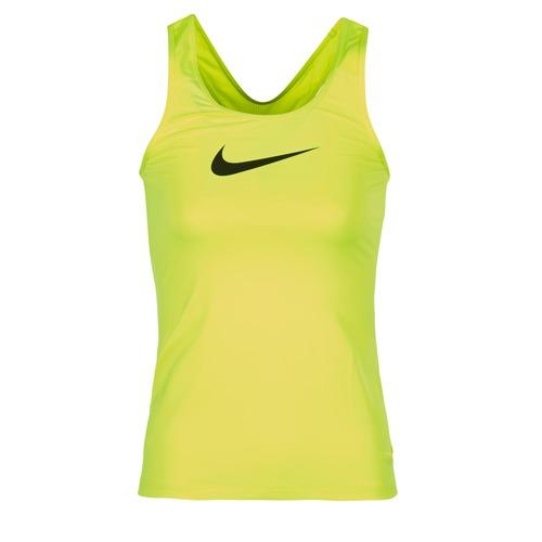 Oblečenie Ženy Tielka a tričká bez rukávov Nike NIKE PRO COOL TANK Žltá