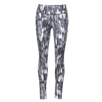 Oblečenie Ženy Legíny Nike PWR LGND TGHT PRNT šedá / čierna
