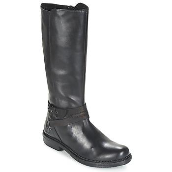 Topánky Ženy Polokozačky Kickers MOTCAST čierna