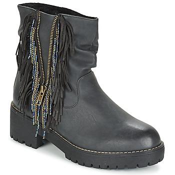 Topánky Ženy Polokozačky Coolway BARINA Čierna