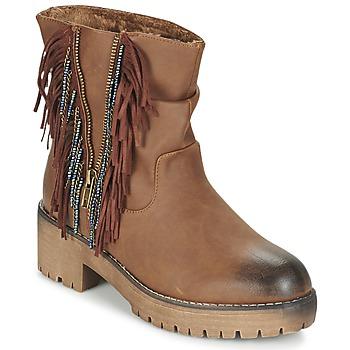 Topánky Ženy Polokozačky Coolway BARINA Ťavia hnedá