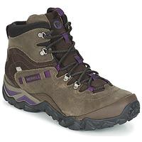 Topánky Ženy Turistická obuv Merrell CHAM SHIFT TRAVELER MID WTPF Zelená olivová