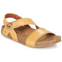 Topánky Ženy Sandále Art WE WALK ťavia hnedá