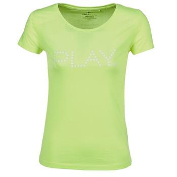 Oblečenie Ženy Tričká s krátkym rukávom Only Play BASIC žltá