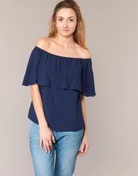 Oblečenie Ženy Blúzky Betty London GIVATE Námornícka modrá