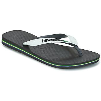 Topánky Žabky Havaianas BRASIL MIX Biela / Čierna