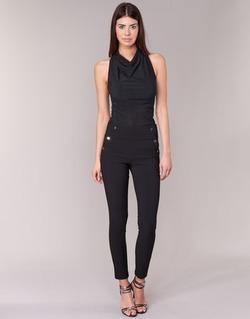 Oblečenie Ženy Nohavice päťvreckové Morgan PSHAPA Čierna