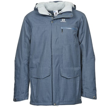 Oblečenie Muži Parky Salomon SKYLINE Modrá