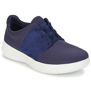 Topánky Ženy Nízke tenisky FitFlop SPORTYPOP X SNEAKER Námornícka modrá