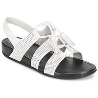 Topánky Ženy Sandále FitFlop GLADDIE LACEUP SANDAL Biela