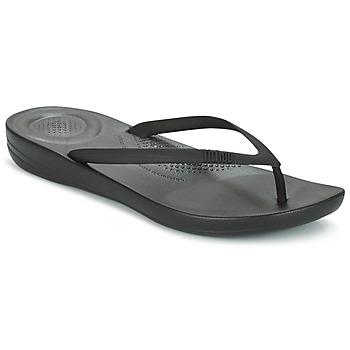 Topánky Ženy Žabky FitFlop IQUSHION ERGONOMIC FLIP FLOP All / čierna