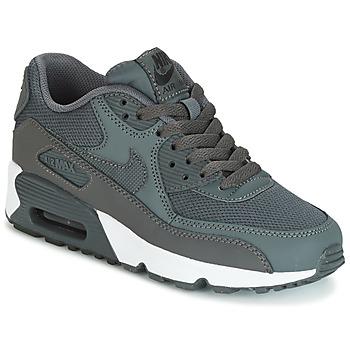 Topánky Chlapci Nízke tenisky Nike AIR MAX 90 MESH GRADE SCHOOL šedá