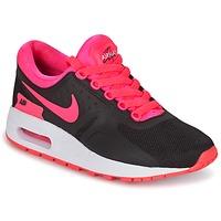 Topánky Dievčatá Nízke tenisky Nike AIR MAX ZERO ESSENTIAL GRADE SCHOOL čierna / Ružová